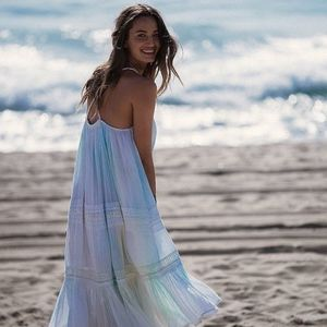 Gorgeous Free People Into The Sun Midi Dress